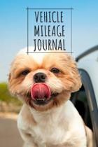 Vehicle Mileage Journal: Mileage Log Book For Work, Mileage Tracker For Business, Portable Size
