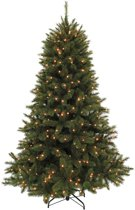 Triumph Tree - Forest Frosted kerstboom hoogte 305 cm met ingebouwde verlichting