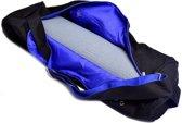 Yogamat tas zwart - 70x21 - Katoen - Polyester - Zwart
