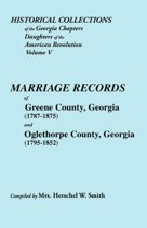 Historical Collections of the Georgia Chapters Daughters of the American Revolution. Vol. 5