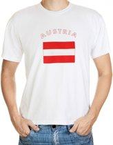 Austria t-shirt met vlag Xl