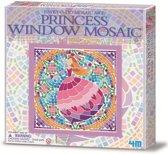 4m Creatieve knutselset venstermoza�ek: prinses paars