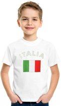 Italie t-shirt voor kinderen Xs (110-116)