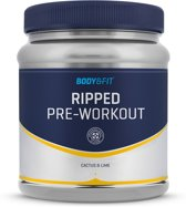 Body & Fit Ripped Pre-Workout - 225 gram (30 servings) - Cactus & Lime