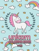 Unicorn Coloring Book Vol.2