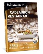 Wonderbox Cadeaubon - Restaurant