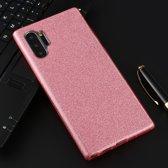 Let op type!! Voor Galaxy Note 10 Pro volledige dekking TPU + PC glittery poeder beschermende Back Cover (roze)