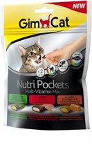 GimCat Nutri Pockets - Malt Vitamin Mix - 150 g