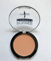 Lovely Pop Cosmetics - Compact Poeder - beige - donkere tint - lichte huid - nummer 04