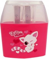 Yoohoo & Friends puntenslijper roze