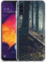 Galaxy A50 Hoesje Dark Forest