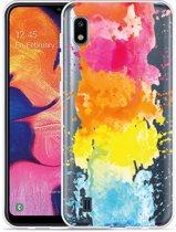 Galaxy A10 Hoesje Color Splatters