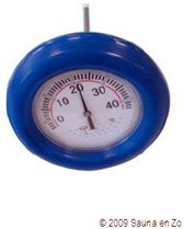 Mega Pool Zwembadthermometer boei Blauw - 25 x 15 x 25 cm