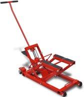vidaXL Hydraulische motor/ATV krik 680 kg rood