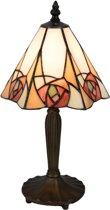 Tafellamp Tiffany 20*18*37 cm / E14 / Max. 1x40 Watt Multi | 5LL-5200 | Clayre & Eef