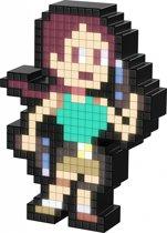 Pixel Pals - Lichtfiguur - Tomb Raider - Lara Croft (Klassiek)