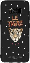 My Jewellery Design Backcover Samsung Galaxy S8 hoesje - Le Tigre