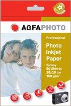 AgfaPhoto Fotopapier / 10x15 / 260gr / 50 vel