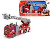 Dickie Brandweerauto met Ladder