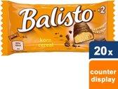 Balisto Granen mix Chocoladereep - 20 x 2 stuks