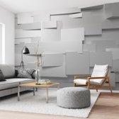 3D muur  - Fotobehang 368 x 254 cm