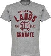Lanus Established T-Shirt - Grijs - XXL