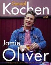 Boekomslag van 'Genial Kochen mit Jamie Oliver'