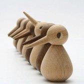 Architectmade - Bird small - Decoratie - Beeld - Vogel - Hout