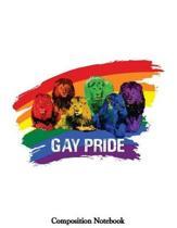 Gay Pride Composition Notebook