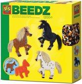 SES Beedz - Strijkkralen Paarden met manen