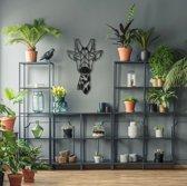 Metalen Decoratie - Giraffe - Wanddecoratie - Hoagard Wall Deco   Muurdecoratie   Perfecte Cadeau Idee Voor Dierenliefhebbers en Natuurliefhebbers