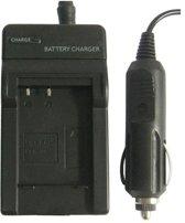 Digitale camera batterijlader voor Panasonic BCG10E (zwart)