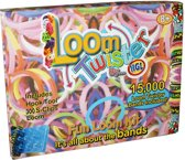 Loom Twister Loombands Fun Kit 15000-delig Multicolor