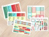 Planner Stickers watermeloen 1002 voor Mascha Planner