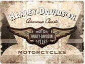 Reclamebord Harley Davidson American Classic