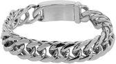 iXXXi Armband Schakels Prague zilverkleurig - Maat 19