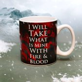 Game of Thrones Daenerys Targaryen Heat Changing Mug 400ml