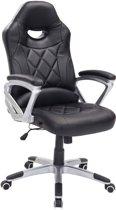 Clp Managerstoel - bureastoel - directiestoel DELGADO - ergonomisch - zwart/zwart