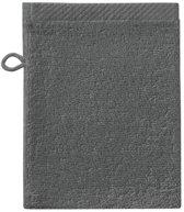 Seahorse Pure - Washandjes - 16x21 cm - Set van 3 - Graphite