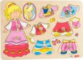 Houten aankleed puzzel Prinses