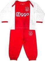 Shortama ajax rood/wit AFC 1900 maat 92