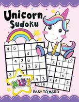 Unicorn Sudoku Book for Kids