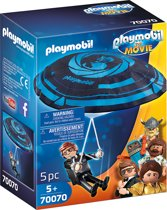 PLAYMOBIL: THE MOVIE Rex Dasher met parachute - 70070