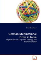 German Multinational Firms in India