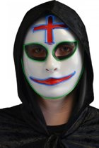 Clown masker met licht