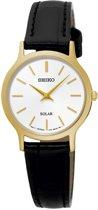 Seiko SUP300P1 horloge dames - zwart - edelstaal doubl�
