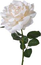 Viv! Home Luxuries Roos extra groot - zijden bloem - wit