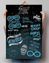 REINDERS The Fault in our Stars - Poster - 61x91,5cm