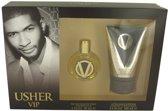Usher Vip Men Gift Set - 30 ml Eau De Toilette Spray + 100 ml After Shave Soother