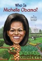 Boekomslag van 'Who is Michelle Obama?'